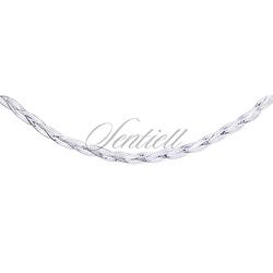 Łańcuszek ozdobny srebrny pr. 925 Ø 024 - 2,9 mm