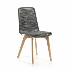 Krzesło DRAKE 45x58 kolor szary - jasno szary