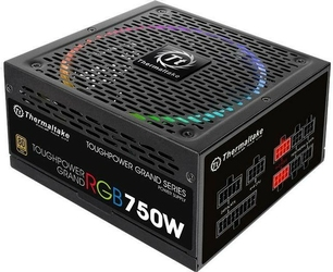 Thermaltake Zasilacz Toughpower DPS G RGB 750W Modular 80+ Gold, 4xPEG, 140mm