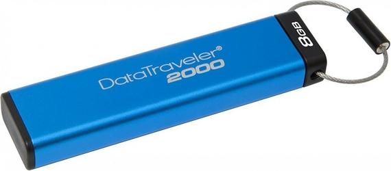 Kingston Data Traveler 2000  8GB USB 3.1 12020 MBs