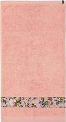 Ręcznik fleur różowy 60 x 110 cm