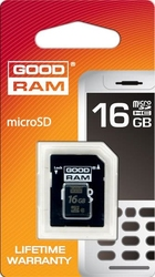Karta microsd z adapterem 16gb klasa 4 goodram