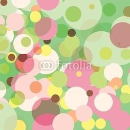 Obraz na płótnie canvas pastelowe kropki
