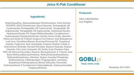 Joico k-pak, odżywka głęboko regeneracyjna 1000ml