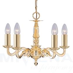 Seville lampa wisząca 5 złoty