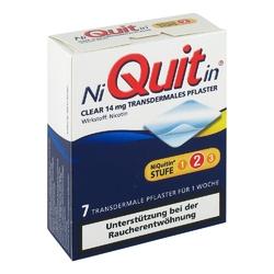 Niquitin clear 14 mg pflaster, transdermal