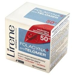 Lirene folacyna + pro telomer 50+ krem na noc 50ml