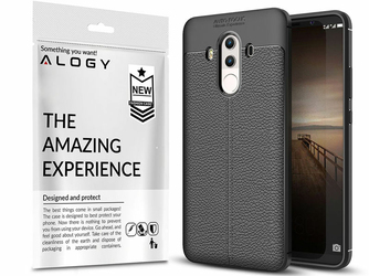 Etui pancerne Alogy leather Huawei Mate 10 Pro czarne +Szkło
