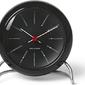 Zegar stołowy arne jacobsen czarny