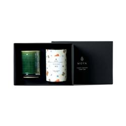 Zestaw herbata liściasta  kubek kasai - kukicha