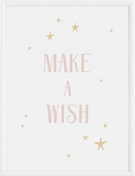 Plakat Make a Wish 40 x 50 cm