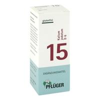 Biochemie pflueger 15 kalium jodatum d 6 tabl.
