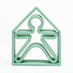 Zabawka kreatywna dena kid + house - green pastel