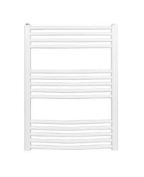 Grzejnik łazienkowy york - wykończenie zaokrąglone, 600x800, białyral - biały
