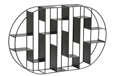 Regał metalowy brick czarny