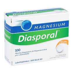 Magnesium diasporal 100 lutschtabl.