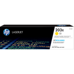 HP 203X oryginalny wkład z żółtym tonerem LaserJet odużej pojemności
