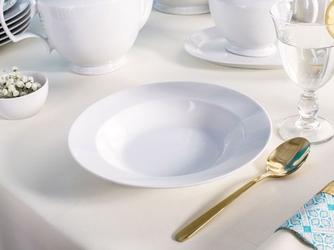 Talerz głęboki do zupy porcelana mariapaula biała 23 cm