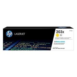 HP Oryginalny toner CF542X, 2500s, HP 203X, High Yield, HP Color LaserJet Pro M254dw, nw, M280nw ŻÓŁTY