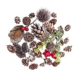 Naturalne elementy świąteczne 50 g - florystyka