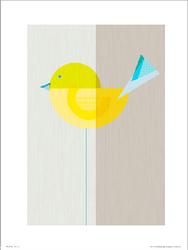 Yellow Bird - plakat premium