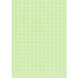 Karton w kratkę - zielony jasny - ZIELJAS