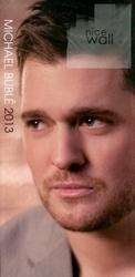 Michael Buble - kalendarz notes 2013
