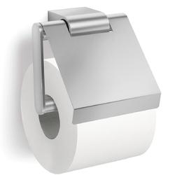 Stalowy uchwyt papier toaletowy z klapką Atore Zack matowy 40415