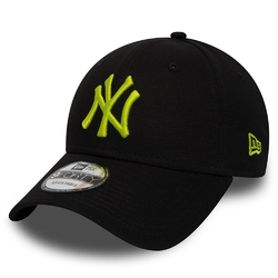 Czapka New Era New York Yankees Essential 9FORTY Lime Green - 11871476