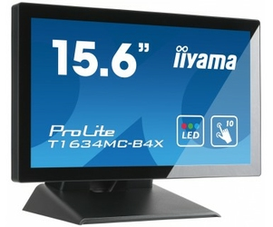 Monitor LED IIYAMA T1634MC-B4X 15,6 dotykowy - Szybka dostawa lub możliwość odbioru w 39 miastach