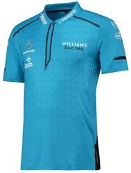 Koszulka polo williams racing 2019 niebieska - niebieski