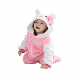 Piżama onesie kigurumi dla dzieci hello kitty