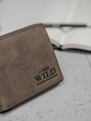 Portfel męski skórzany always wild n992-az - brązowy