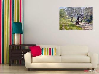 gaj oliwny -  william chase ; obraz - reprodukcja