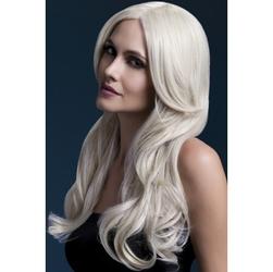 Blond peruka wysokiej jakości