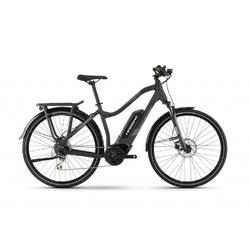 Rower elektryczny haibike sduro trekking 1.0 lady 2020, kolor czarny, rozmiar 48cm
