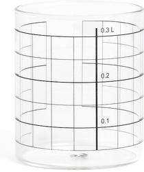 Szklanki 0,3 l w komplecie 4 szt. tre double lines
