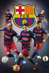 FC Barcelona - Zawodnicy - plakat