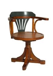 Authentic models krzesło pursera, gunmetal grey mf081g