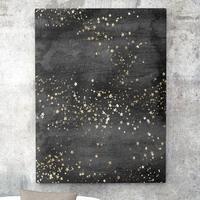 Obraz na płótnie - golden stars , wymiary - 80cm x 120cm