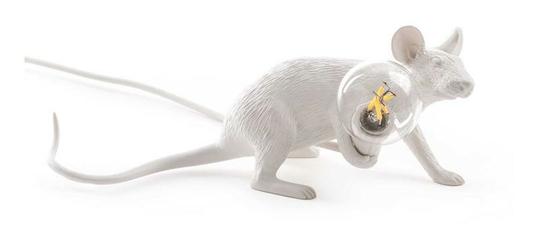 Lampa Mouse leżąca