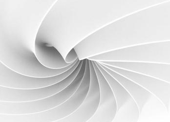 Abstrakcja, fala 3d - fototapeta