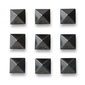 Pad dakine pyramid studs black