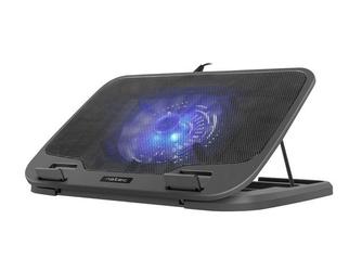 NATEC Podstawka chłodząca pod notebook Iora 15.6-17.3 cali z cichym wentylatorem, podświetlenie, 2x USB