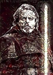 Legends of bedlam - luke skywalker, gwiezdne wojny star wars - plakat wymiar do wyboru: 29,7x42 cm