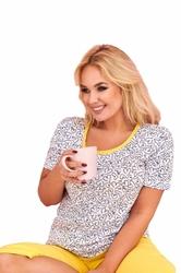 Piżama damska taro bożenka 245 2xl-4xl l20