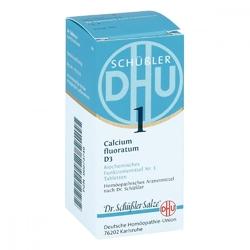 Biochemie dhu 1 calcium fluorat.d 3 tabl.