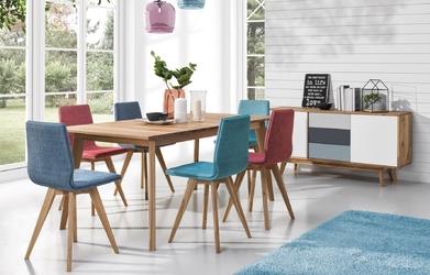 Drewniany stół rozkładany do jadalni stilo
