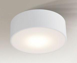 Shilo :: Oprawa natynkowa ZAMA ROUND LED Ø20cm biała