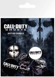 Call Of Duty Ghosts Logo - zestaw 6 przypinek